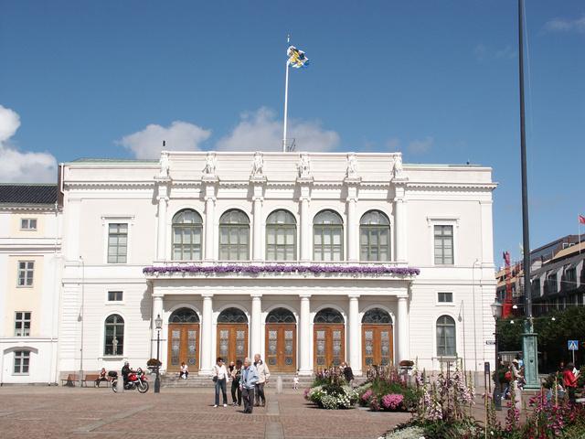 A göteborgi városháza.