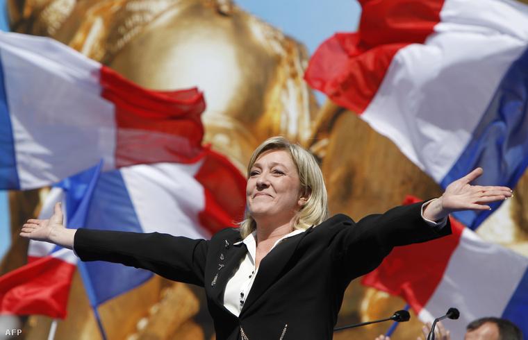 Marine Le Pen, a Nemzeti Front elnöke