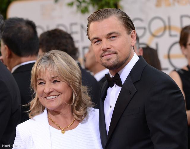 Leonardo DiCaprio is meggáláztatta szülőanyját.