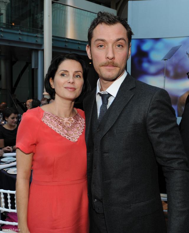 Jude Law és Sadia Frost