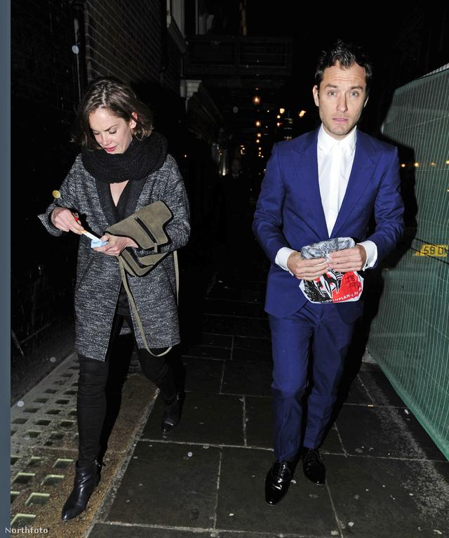 Jude Law és Samantha Burke