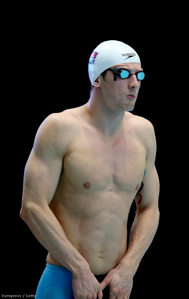 Michael Jamison skót úszó
