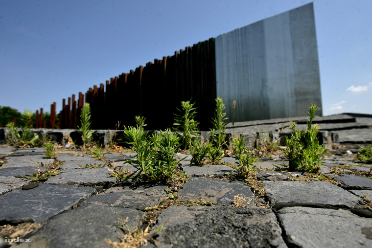 56-os emlékmű a az 56-osok terén, a Városligetnél