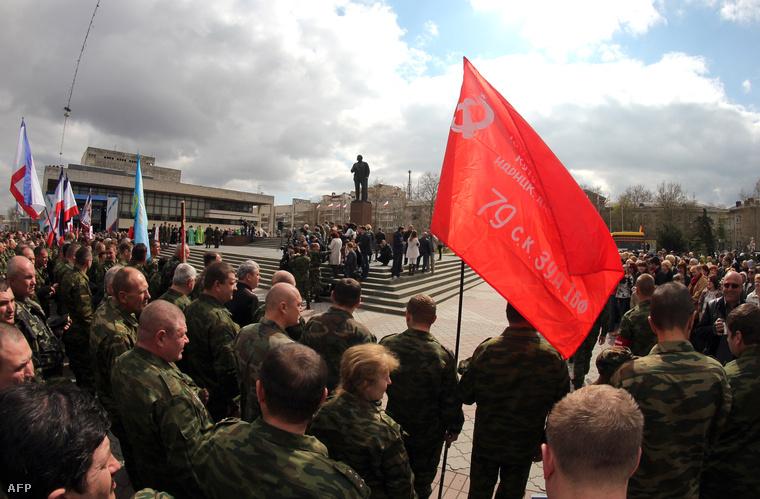 A Krím félsziget orosz felszabadításának 70. évfordulóját ünnepelték a napokban Szimferopolban
