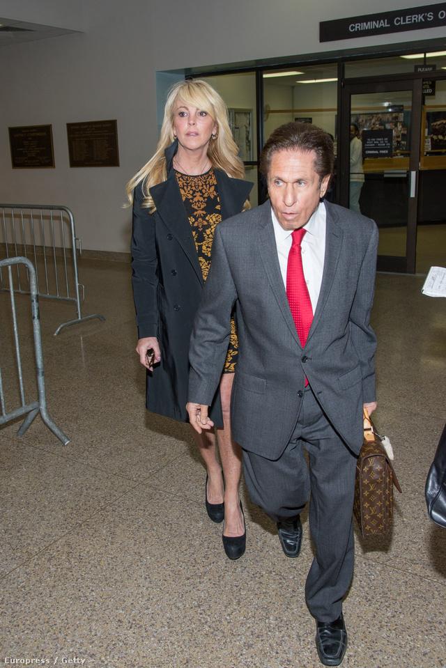 Dina Lohan és ügyvédje, Mark Heller