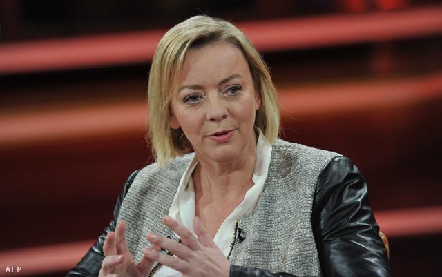 Sabine Kehm a német ARD televíziós csatorna műsorában