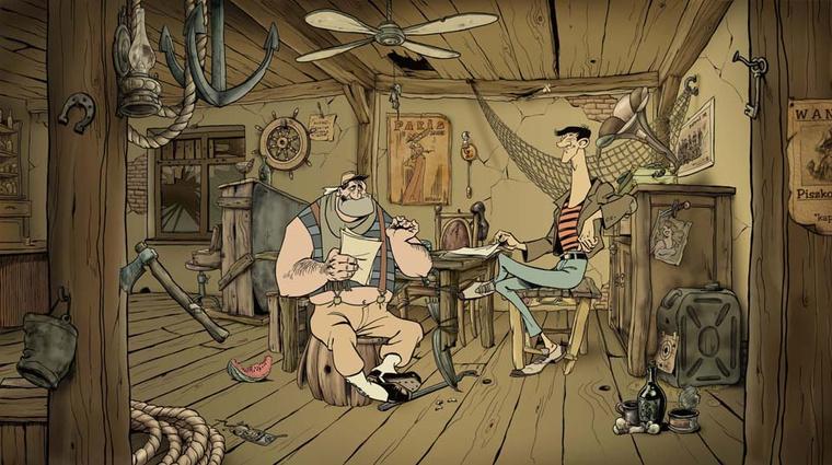 Ilyen lenne az elkaszált Piszkos Fred-animáció is