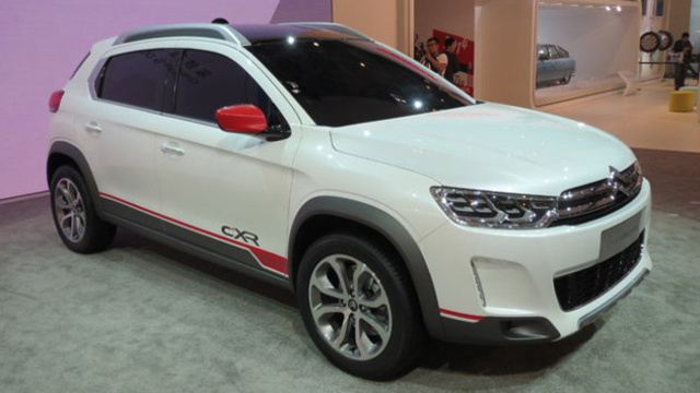 A C-XR a Pekingi Autószalonon