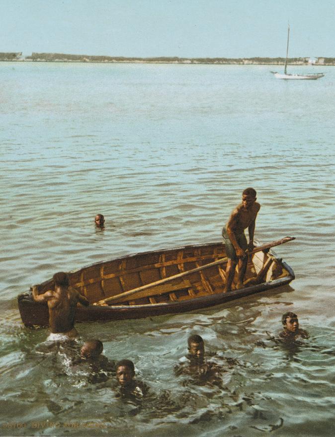 Gyöngyhalászok a Bahamákon