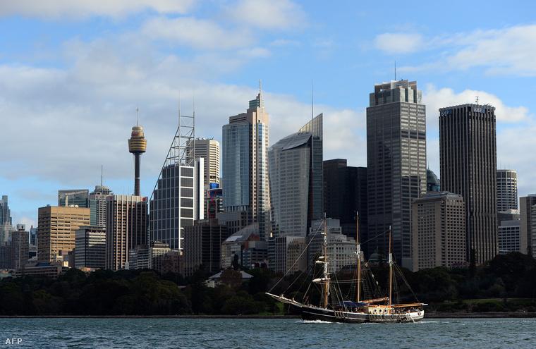 Gombamód szaporodó irodaházak Sydneyben