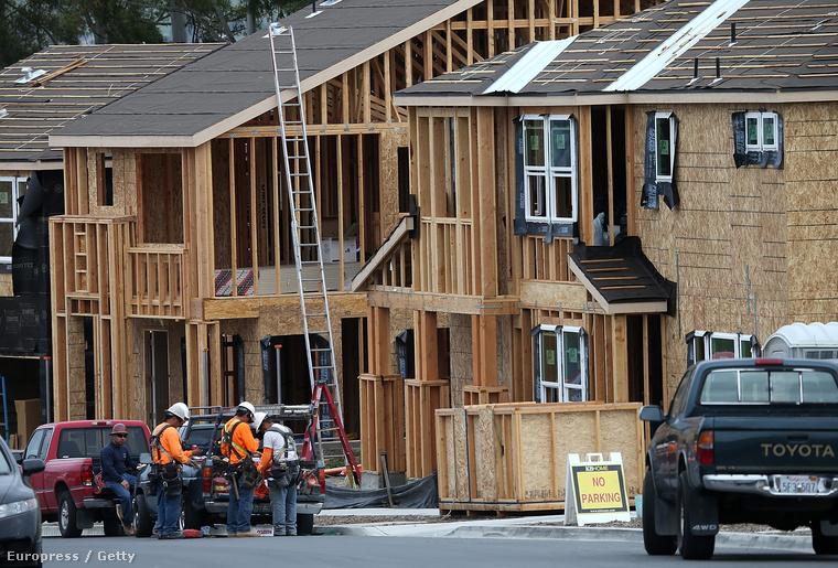 Újépítésű otthonok készülnek Kaliforniában