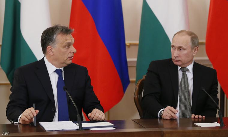 Orbán Viktor és Vlagyimir Putyin aláírják a paksi bővítésről szóló megállapodást