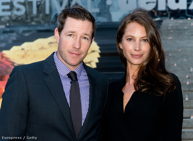 Edward Burns, a férj, és Christy Turlington Burns