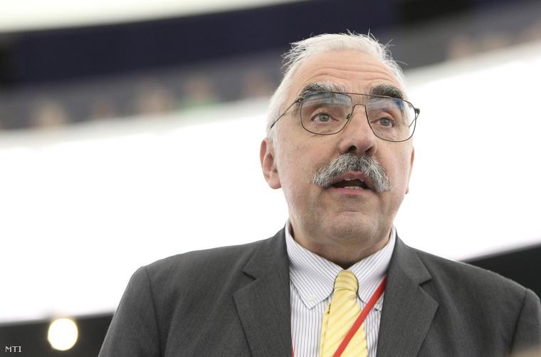 Bokros Lajos az Európai Konzervatívok és Reformerek (ECR) frakciójának képviselője felszólal az Európai Parlament plenáris ülésén Strasbourgban 2013. július 2-án.