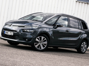 Teszt: Citroën Grand Picasso BlueHDi 150 Exclusive - 2014.