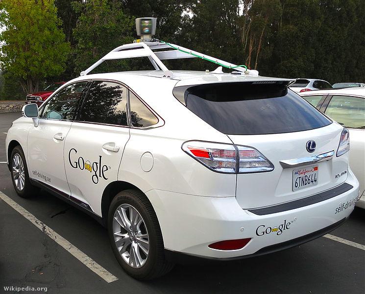 Google's Lexus RX 450h Self-Driving Car
