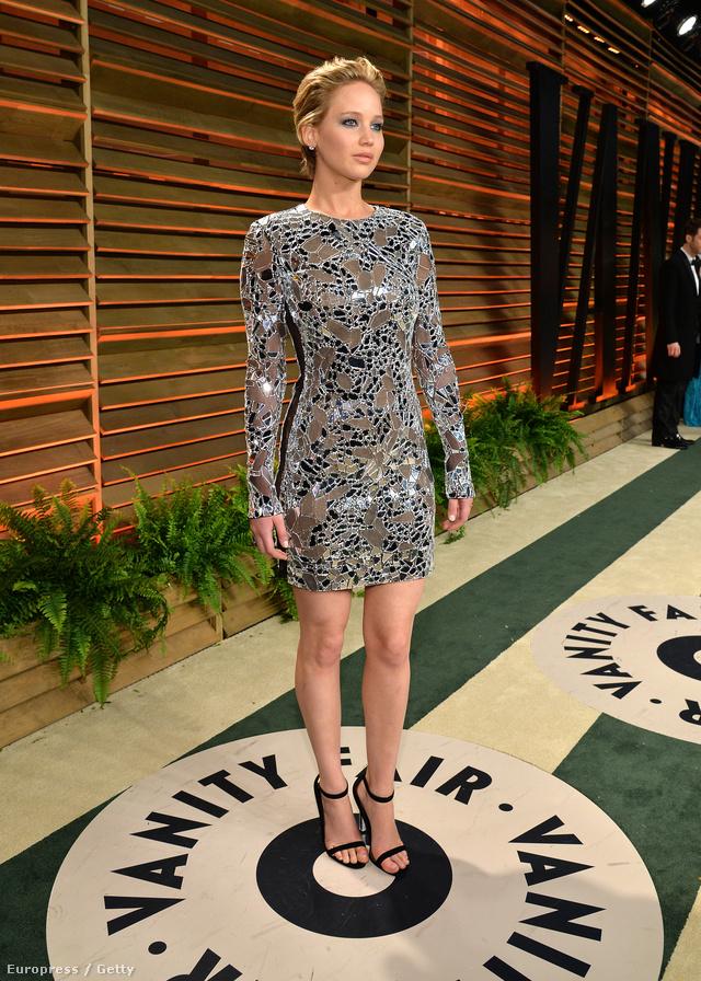 Jennifer Lawrence az Oscar-afteren, idén