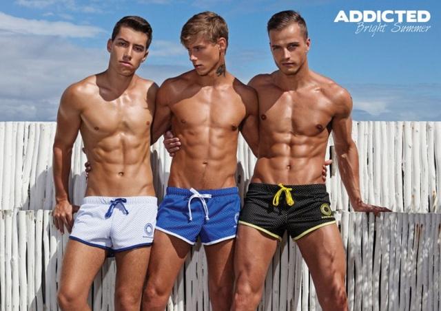 A modellek a Bel Ami pornócég színészei