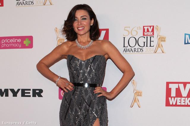 Dannii Minogue a Logie Awards nevű díjkiosztón Melbourne-ben