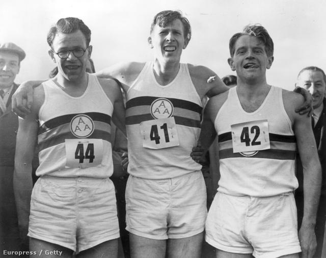 Chris Brasher, Roger Bannister és Chris Chataway