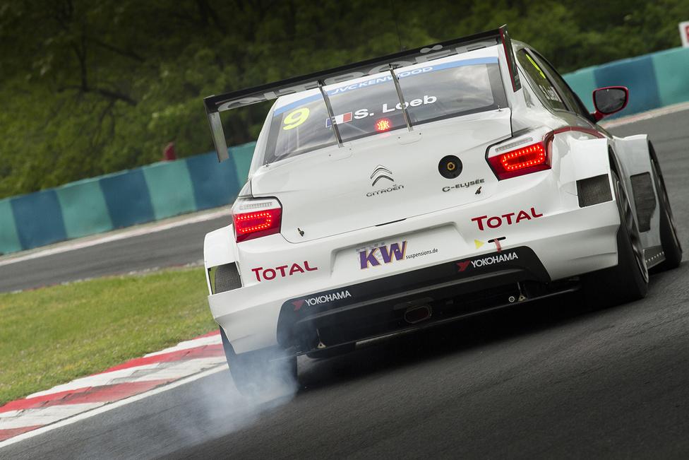 Hiába az erős szezonkezdés, Marrákes óta keresi a helyét Sébastien Loeb. Mind a két futamon egy hondáson akadt fenn, pedig a Hungaroring neki sem volt új.