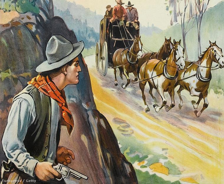 A bandita szíve, 1915.