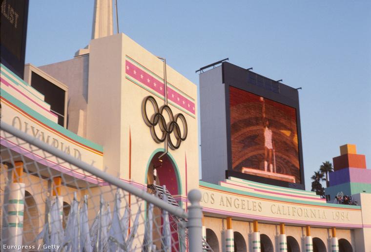 A Los Angeles-i olimpia megnyitó ünnepsége