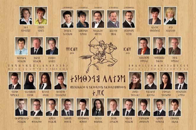 A Weiss Manfréd Szakközépiskola és Kollégium XII/D osztályának tablóképe