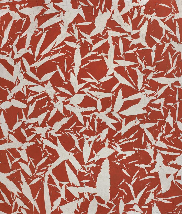 Hantai Simon:Etude (Etűd), 1969, olaj, vászon