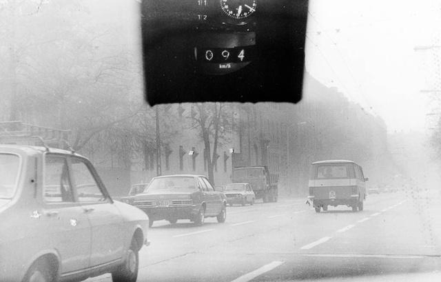 Korabeli traffipaxfotó a családi autóról