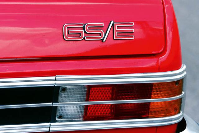 GS/E, csúcsverzió, benzinbefecskendezéssel