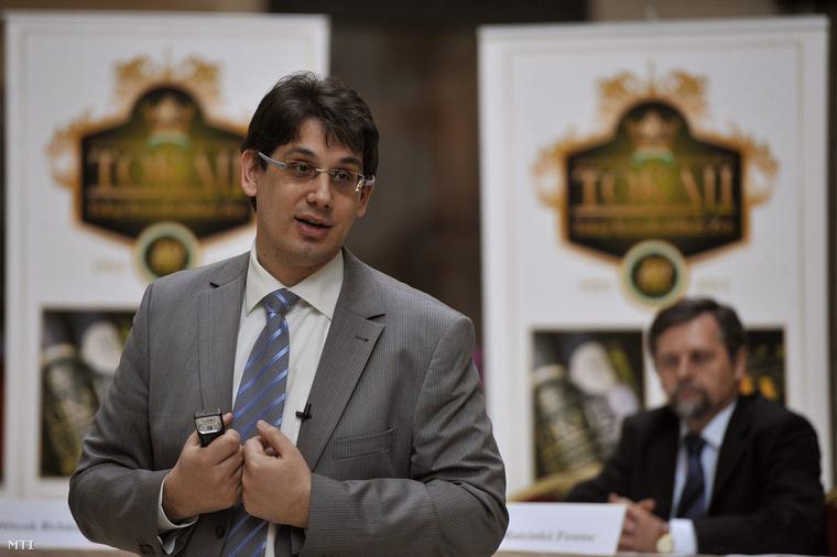 Kiss István, a Tokaj Kereskedőház korábbi vezérigazgatója
