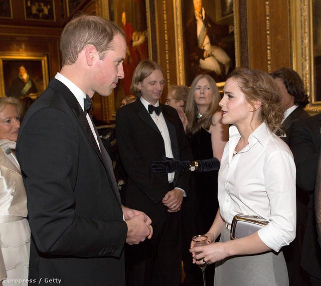 Károly herces és Emma Watson