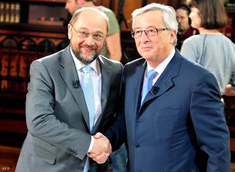 Martin Schulz és Jean-Claude Juncker