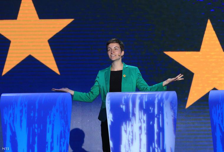 Ska Keller, az Európai Zöldpárt jelöltje