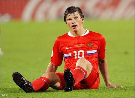 Andrej Arsavin inkább a védőket ültette földre