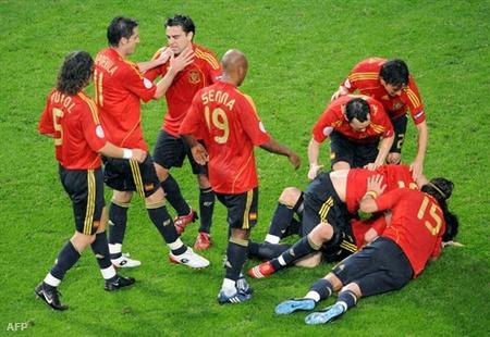 A spanyol válogatott