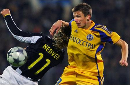 Bate Boriszov-Juventus 2-2