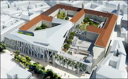 A Városháza fórum terve