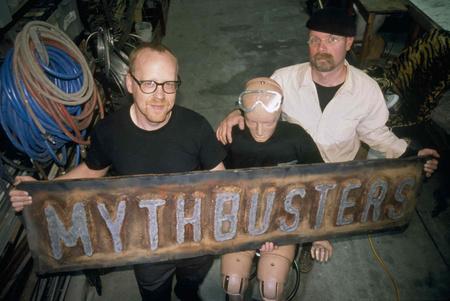 MYTHBUSTERS dummy