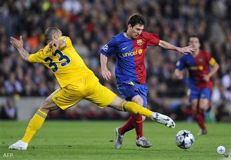 Messi elől a levegőt is elszívták