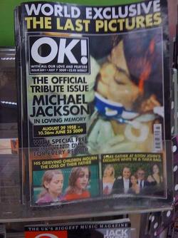 ok magazine michael jackson tribute