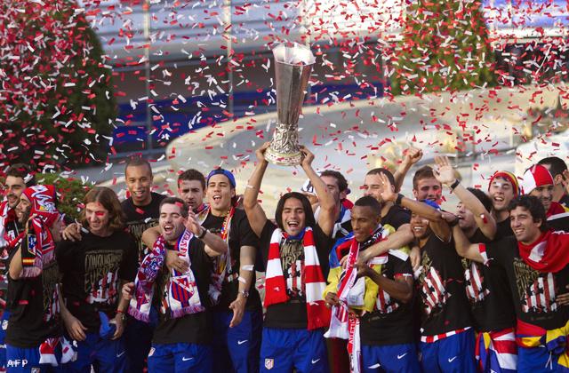 2012-ben megnyerték az Európa Ligát...