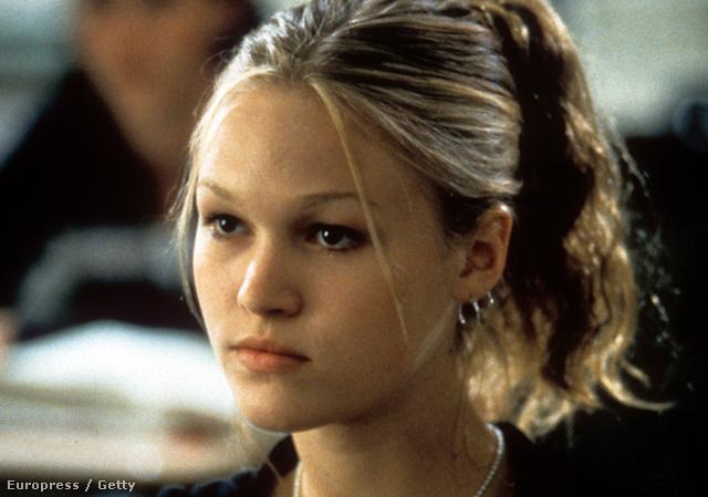 Julia Stiles a 10 dolog, amit utálok benned című filmmel lett világhírű, 18 évesen.