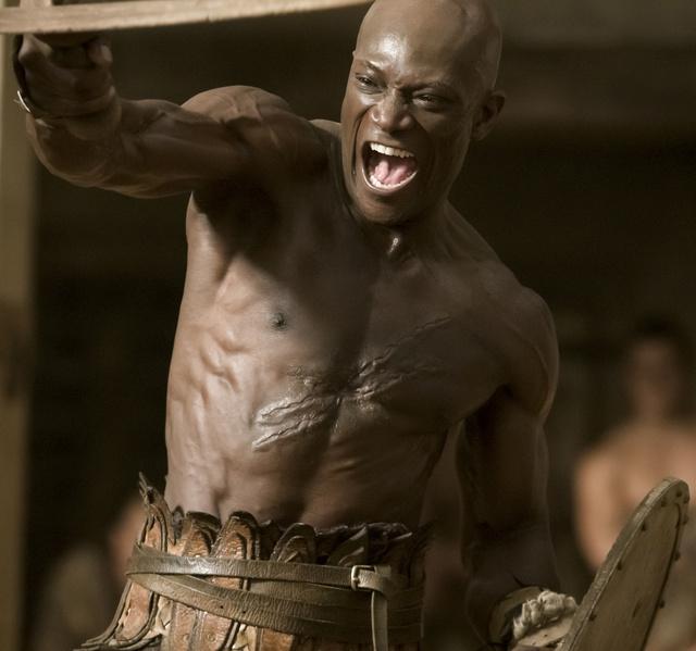 Peter Mensah, mint Oenomaus