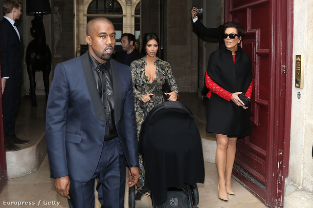 Kanye West ekkor már valószínűleg tudta, hogy anyósával kell nászútra mennie