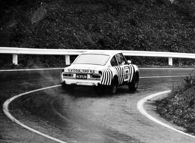 A Zebraként elhíresült szuper Škoda, a 130 RS 1978-ban
