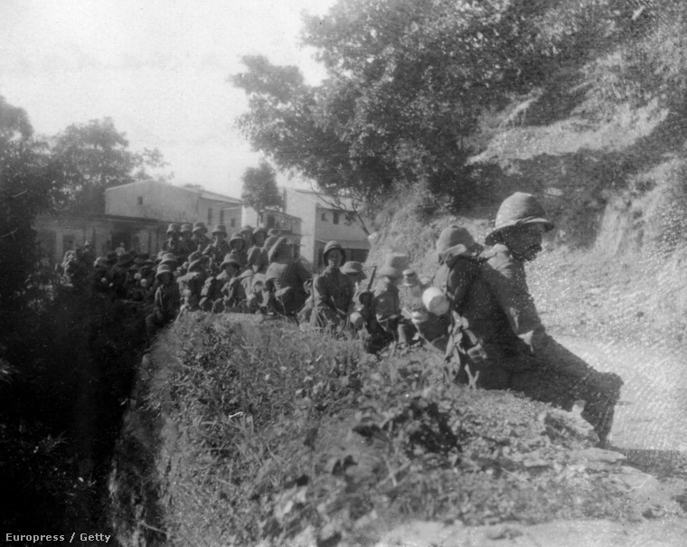 Brit katonák Amritsarban