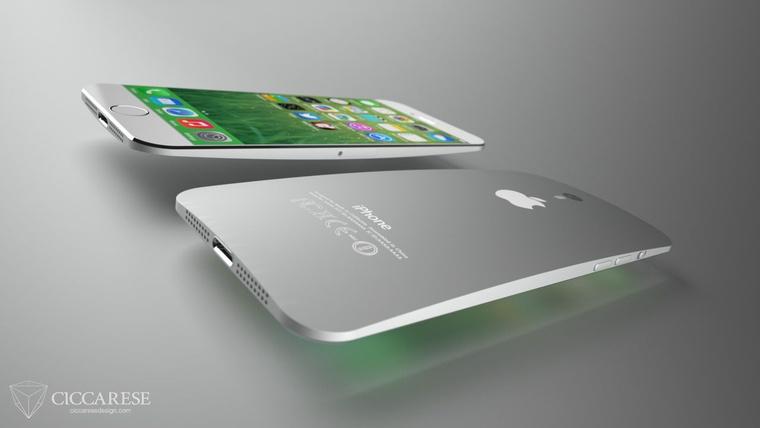 Egy legkevésbé sem hivatalos fantáziarajz az új iPhone-ról