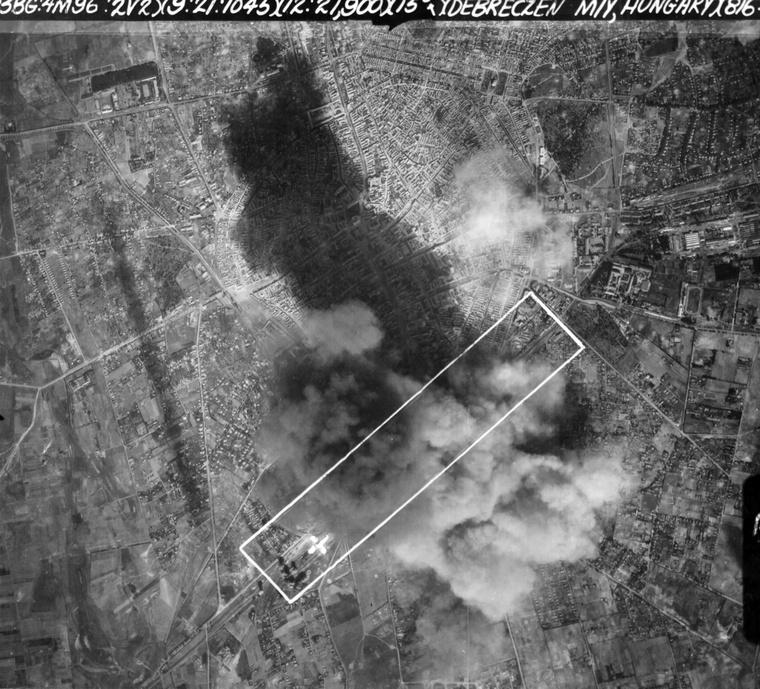 Debrecen bombázása, 1944-ben